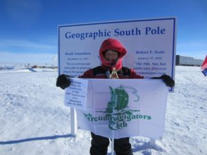 Don Parrish at the South Pole