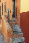 Kenneth Linsner, Architecture, Steps - San Miguel Mexico
