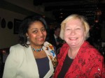 Cs. Christine Moss and Beverly Anderson