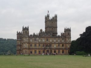 Highclere  (TV viewers will recognize this from Downton Abbey)
