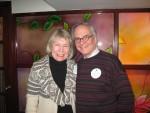 C. Barbara Hagstrom with guest Luca Valentino