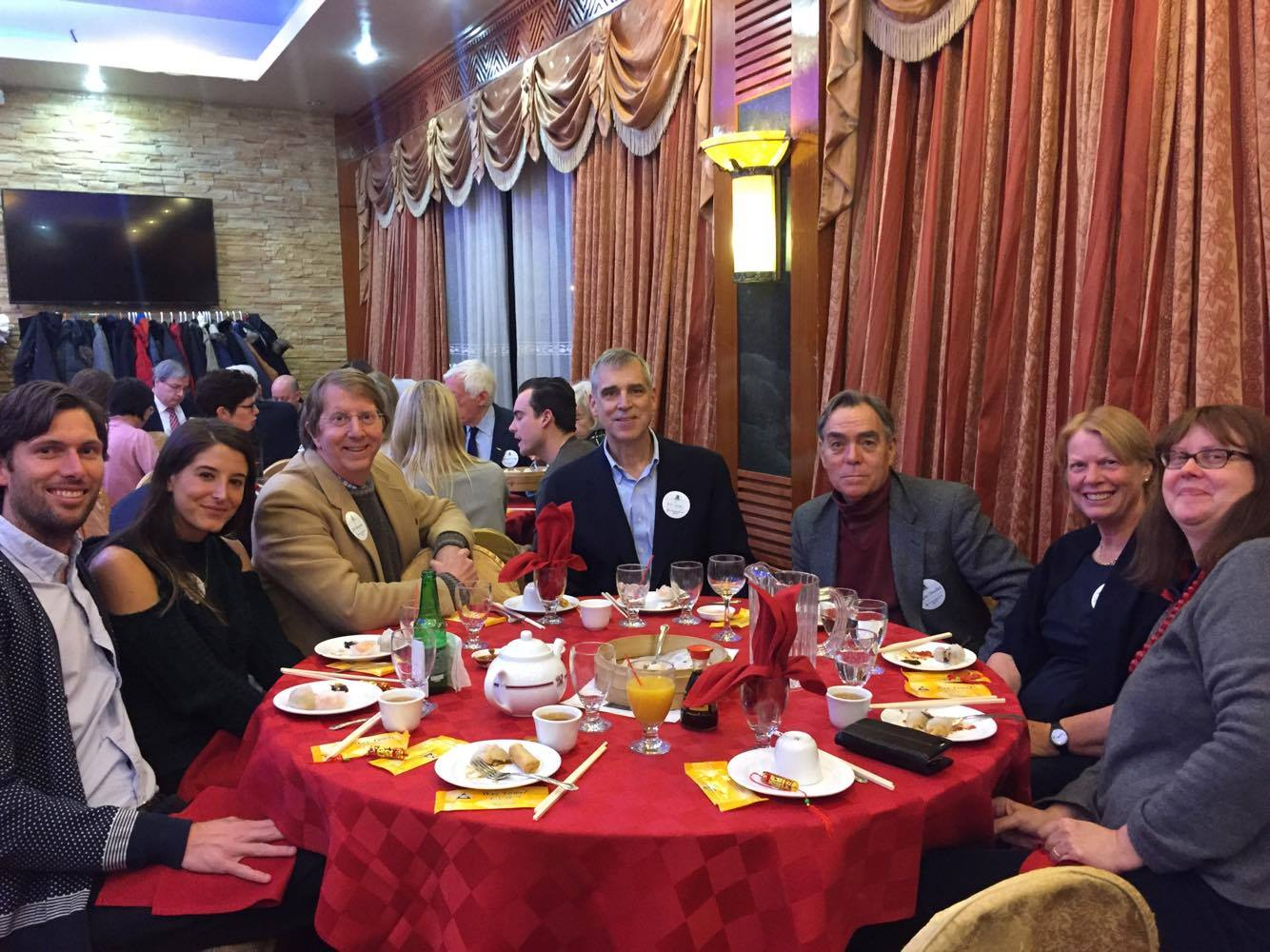 past president bill holm and friends - Chinese New Year Dinner
