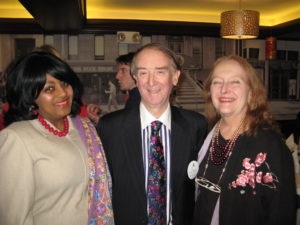 C. Christine Mosse with International Past Presidents Peter Mosse and Esther Dyer
