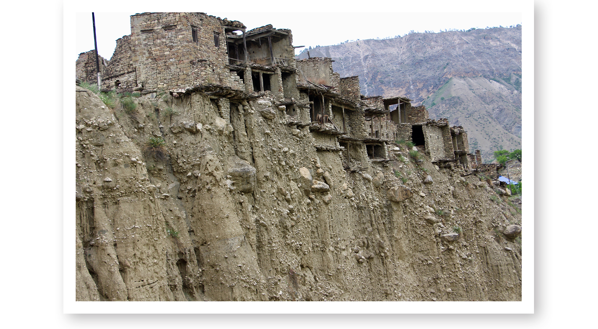 """Circumnavigator Albert Podell, author and adventurer, traveled really far off the beaten track to visit northern Caucasus. An 85-year-old woman is the last inhabitant of this crumbling village he found along the way. Albert's """"white-knuckle"""" adventure will be featured in the next issue of The Log."""