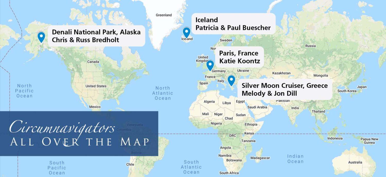 circumnavigators travel in September