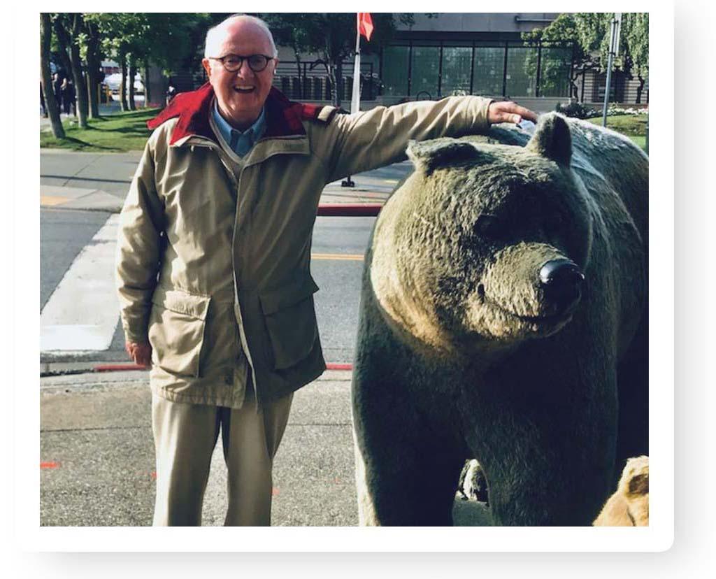 Russ Bredholt in Alaska