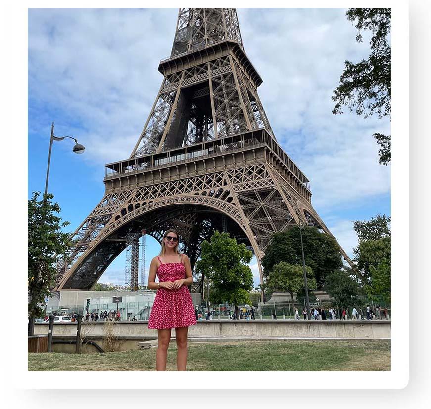 Katie Koontz in Paris